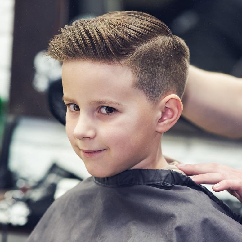 """Kiểu tóc đầy quyến rũ cho các """"chàng"""" 5 tuổi"""