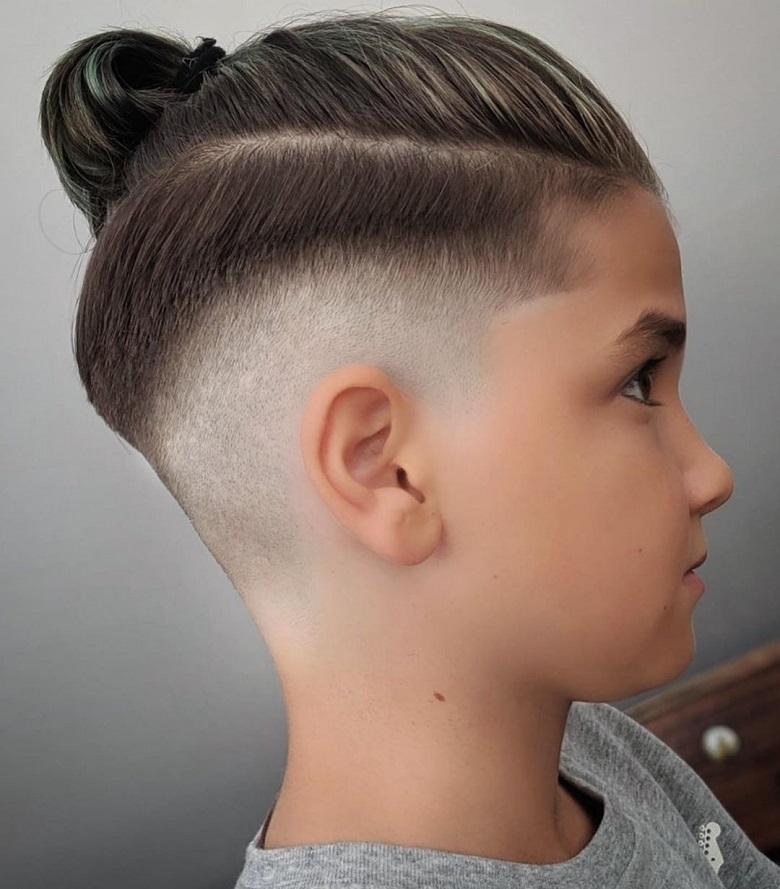 Mái tóc được cắt tỉa tỉ mỉ đầy cuốn hút