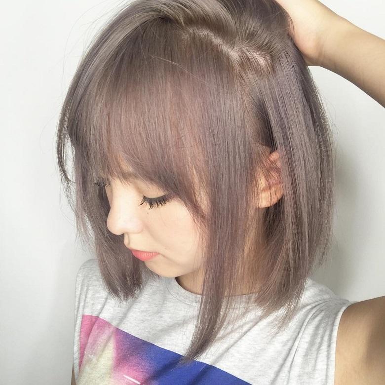 Một trong những màu tóc đẹp 2020 được yêu thích nhất