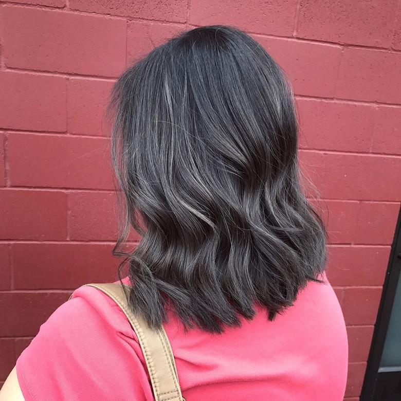 Màu tóc nhuộm bóng bẩy, mới mẻ đầy đột phá