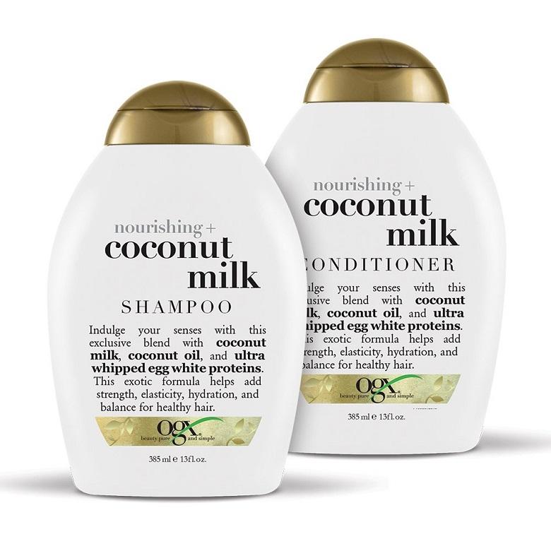 Sự kết hợp của sữa dừa và các thành phần dưỡng ẩm khác