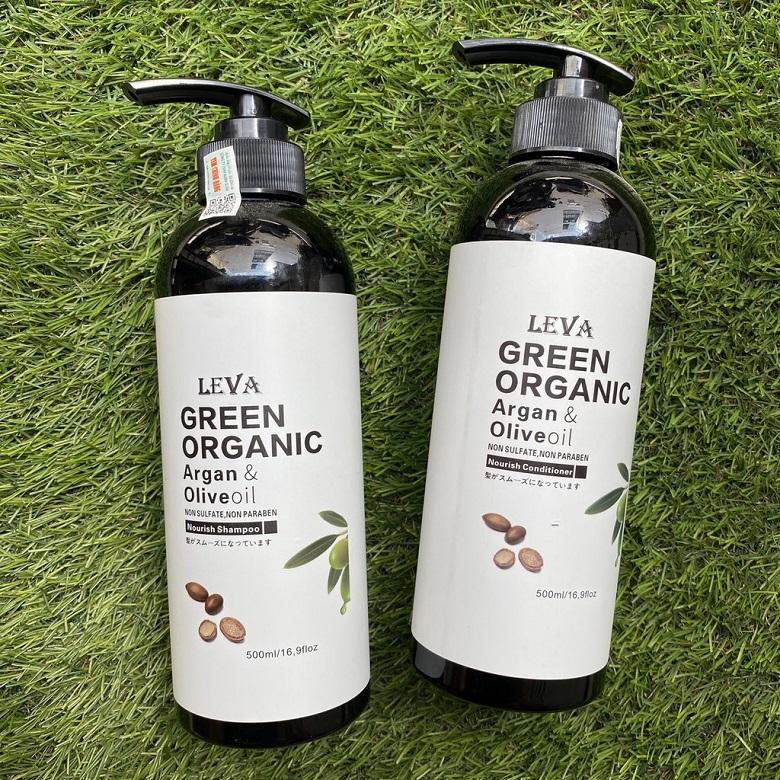 Sản phẩm có chiết xuất chính là dầu Argan và Olive