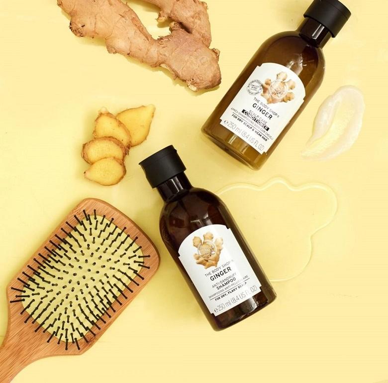 Sản phẩm trị gàu đến từ thương hiệu The Body Shop Hàn Quốc